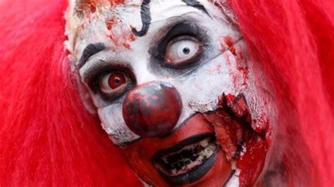 knife wielding clown spotted  teesside village tyne