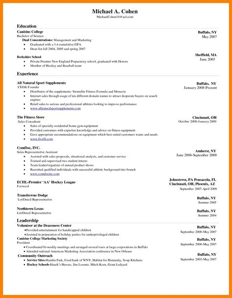 Copy Of Cv Template by 8 Cv Sles In Ms Word Theorynpractice
