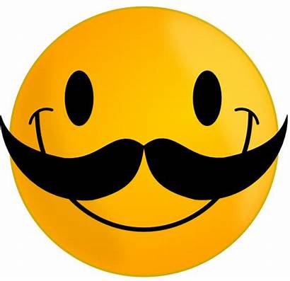 Smile Mustache Clip Clipart Vector Clker Domain