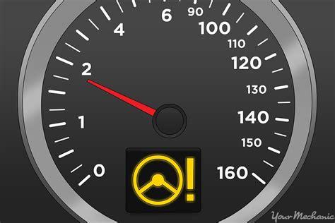 power steering system warning light