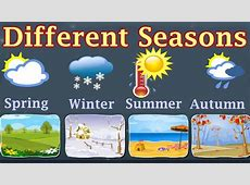 Weather, Different Seasons, Learn About Autumn, Winter