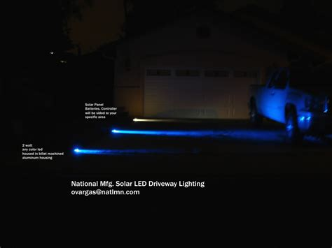 led driveway lighting solar power led driveway lighting