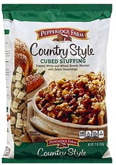 Pepperidge Farm Stuffing Country Style, Cubed 120 Oz