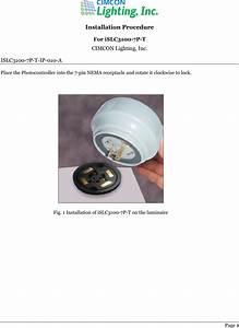 Cimcon Lighting Cl3100t Photocontroller User Manual Manual
