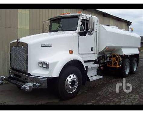 kenworth truck specs 2005 kenworth t800 water truck for sale chehalis wa
