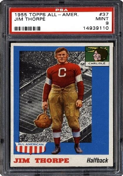 most football cards expensive collectors dream card thelistli collection rarest jim worth