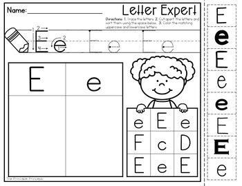mira preschool letter number sort worksheet kidz activities 978