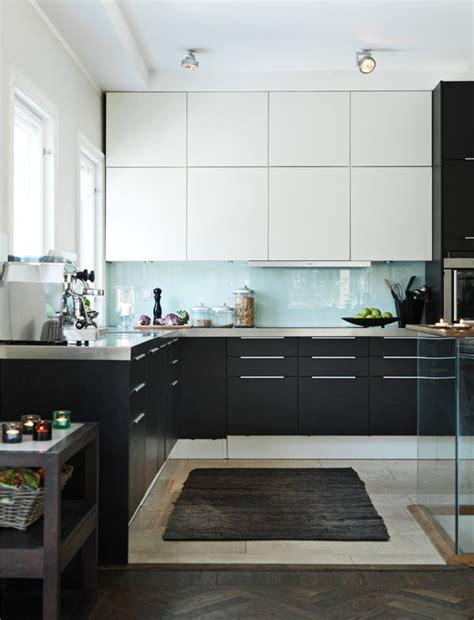 cuisine noir et cuisine noir et blanc