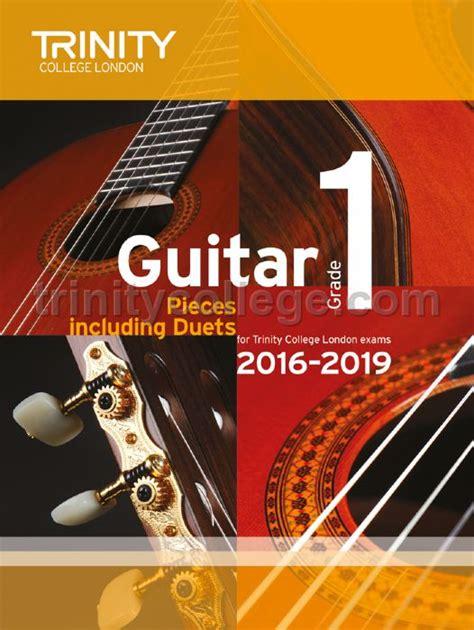 guitar exam pieces grade    trinity college london