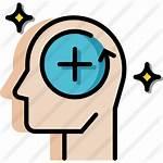 Positive Icon Thinking Attitude Icons Mindset Optimistic