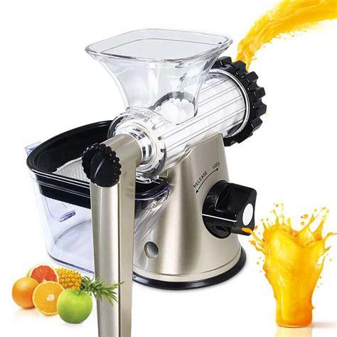 juicer fruit manual machine juice blender maker wheatgrass healthy juicers