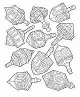 Hanukkah Coloring Pages Dreidel Drawing Drawings Menorah Hannukah Printable Colorit Jewish Crafts Sheets Dreidels Holiday Symbols Christmas Paper 5th Coloringfolder sketch template