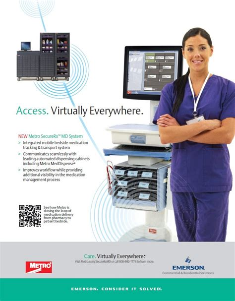 access virtually everywhere new metro securerx md system integrated mobile bedside