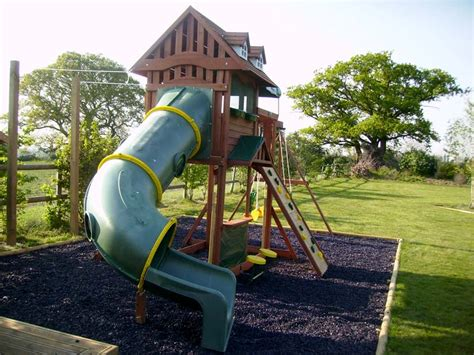 rubber chipping children s play area with scented rubber chippings harlow garden services