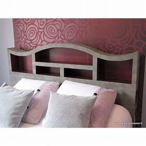 Tete De Lit Meuble : patron meuble en carton t te de lit halba 2 personnes de l 39 atelier chez soi ~ Teatrodelosmanantiales.com Idées de Décoration