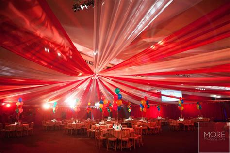 circus themed event  production