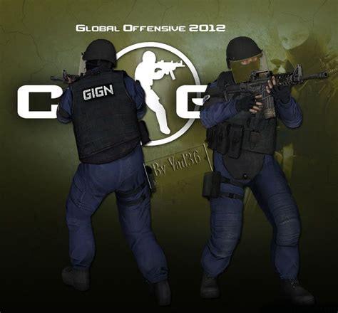 cs  gign counter strike source skin mods