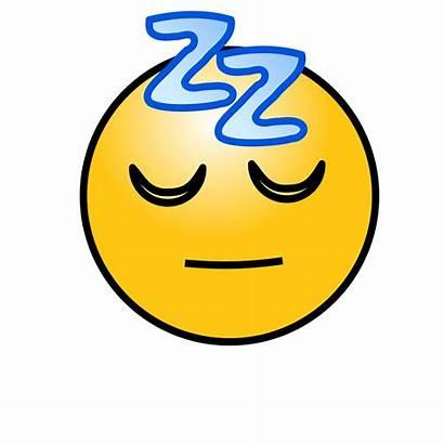 Sleeping Emoticon Clipart Sleepy Face Smiley Clip