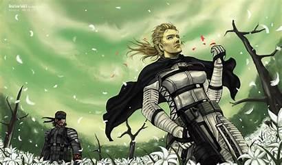 Gear Solid Metal Mgs3 Mgs Snake Wallpapers