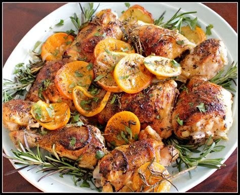 oven c recipes easy chicken recipes herb and citrus oven roasted chicken parts recipe youtube