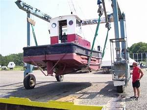 Truckable Push Boat For Sale