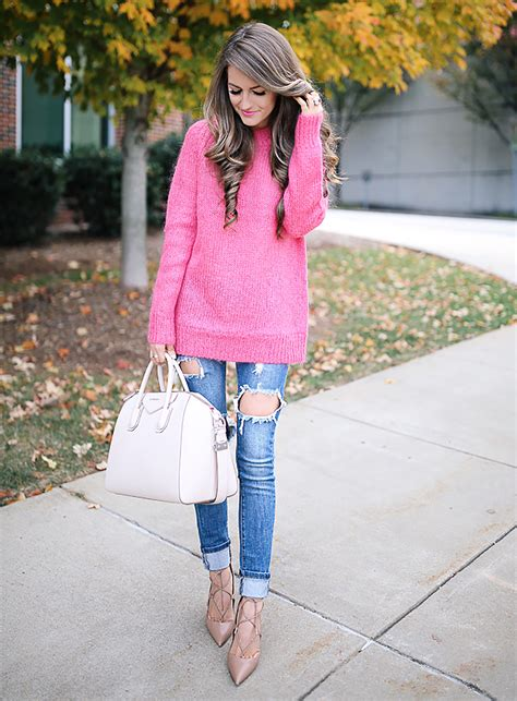 6 Ways To Wear Pink For Fall Sydne Style