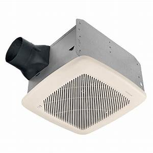 bathroom broan sone cfm white bath fan energy star lowes With best quiet bathroom exhaust fan