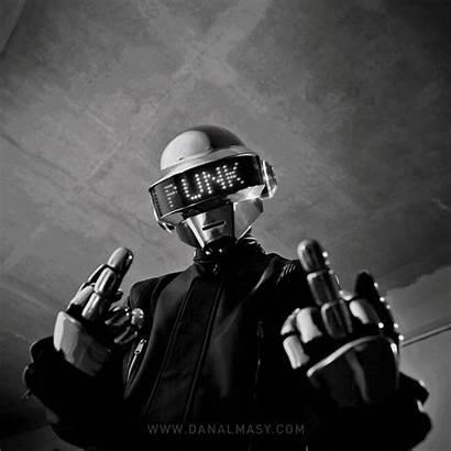Daft Punk Robot Robots Helmet Thomas Delorean
