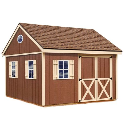 best barns mansfield 12 ft x 12 ft wood storage shed kit
