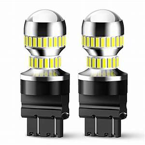 Auxlight 3157 4157 3155 3457 Switchback Led Bulbs 16smd