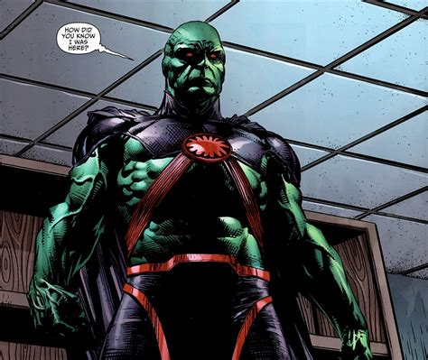 What Does Dcu Stand For by Who Is Supergirl S Friend J Onn J Onzz The Martian