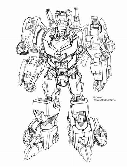 Transformers Mtmte Concept Trailbreaker Drawing Alex Milne