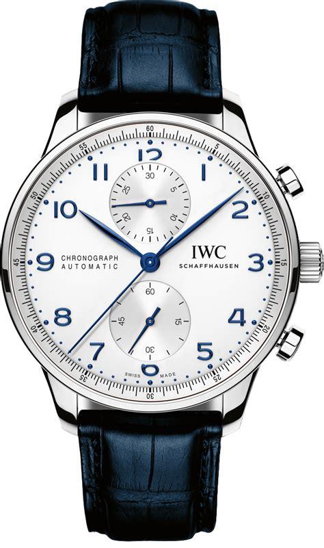 iwc chronograph silver iw371446 iwc portuguese chrono new automatic movement mens