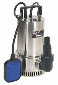 Wps250a Sealey Submersible Stainless Water Pump Automatic