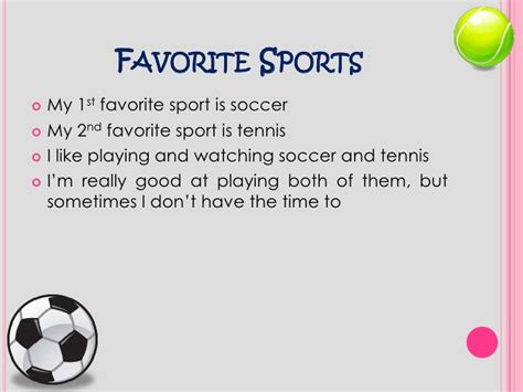 Sport Is My all about me