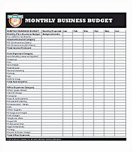 How To Write A Business Plan Sample Business Budget Template For Excel And How To Make Yours
