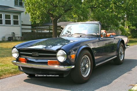 1971 Triumph Tr6 Photos, Informations, Articles