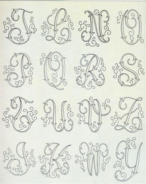 Lettere Da Ricamare by Ricamo Punto Pieno Le Cifre4 Jpg 796 215 1002 Monogram