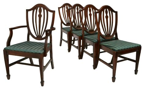 5 hepplewhite style dining chairs spectacular carved