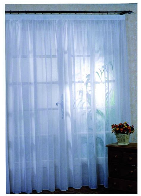 rideau voilage sur mesure rideau voilage classique uni blanc homemaison vente en ligne voilages