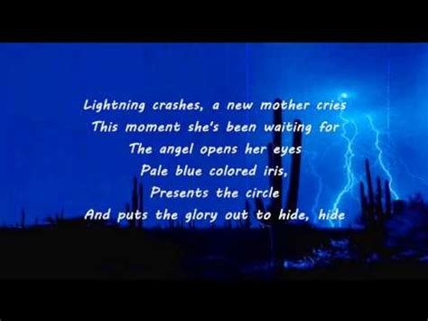 crashes lyrics live lightning crashes lyrics Lighting