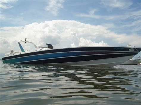 Miami Vice Offshore Boat by Scarab 38kv Miami Vice Edition Offshore Boats