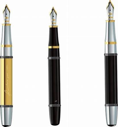 Pen Clipart Pencil Transparent Clip Fountain Expensive