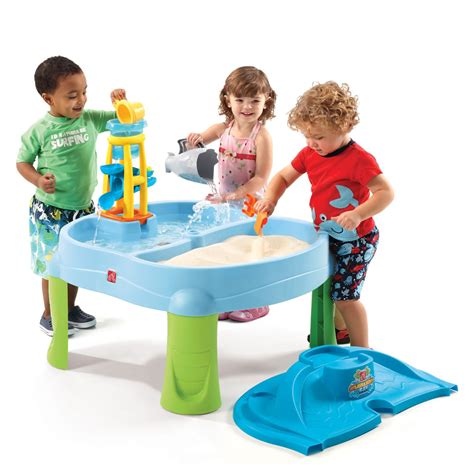 water table for kids splash scoop bay sand water by step2