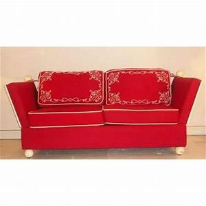 banquette ancienne canape ancien sur proantic 20eme siecle With tapis rouge avec canapé style ancien