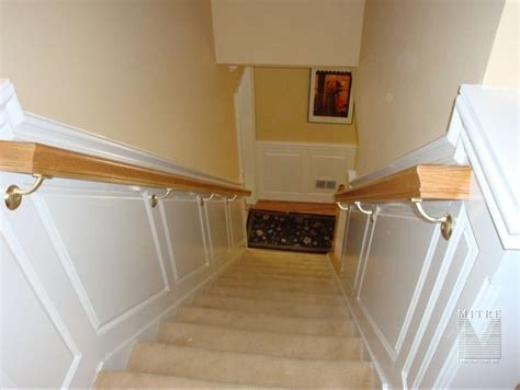 Best 8 Stairway Chair Rail Images On Pinterest Stairways
