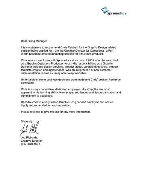 letter for recommendation best photos of personal reference letter of recommendation