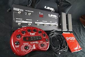 Line 6 Pod 2 0 With Floor Board   Ethernet Cable