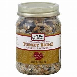 Spice Hunter Turkey Brine 11 Oz Pack Of 12