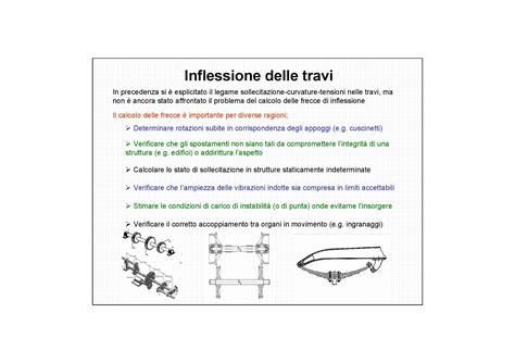 progettazione meccanica dispense travi inflessione dispense